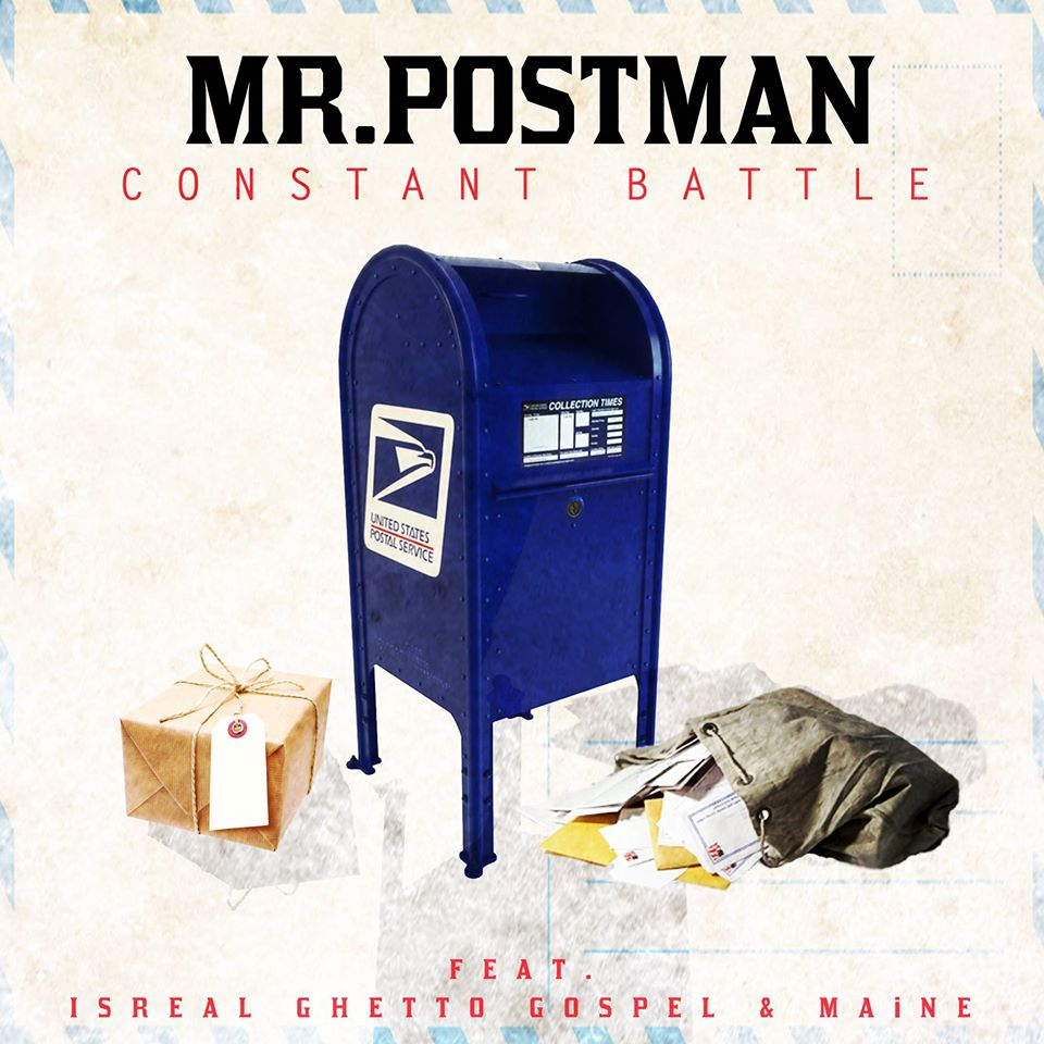 Constant Battle - Mr PostMan - cover